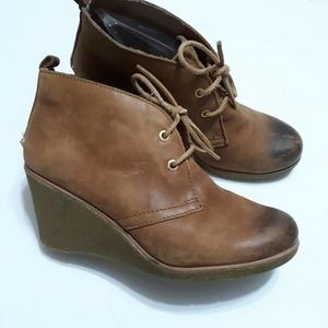 Sperry Topsider Harlow wedge ankle bootie sz 8.5M